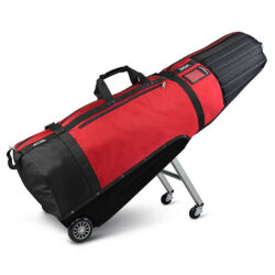 Sun Mountain Club Glider Meridian Travel Cover - Black/Red