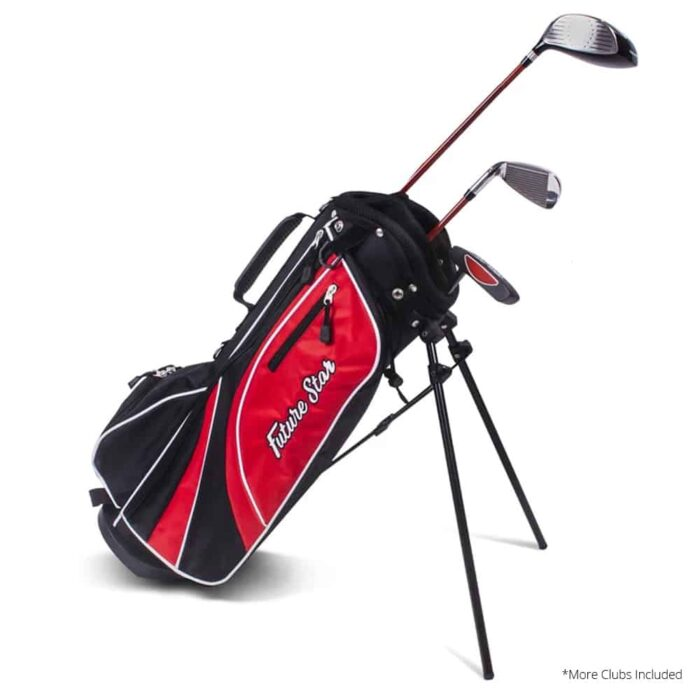 PGF Future Star JWS Junior Package Set Red 6-8 Years (4 Piece Set) Right Hand