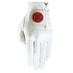 G-Fore Essential Leather Golf Glove - Scarlet