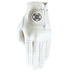G-Fore Essential Leather Golf Glove - Snow