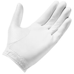 TaylorMade Tour Preferred 2021 Leather Golf Glove - White