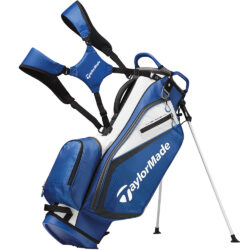 TaylorMade TM21 Select Stand Golf Bag - Black/Blue